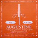 AUGUSTINE / Red Medium Tension B or 2nd バラ弦 【クラシックギター弦】【ガットギター弦】【ナイロン弦】【Nylon】【オーガスチン】【レッド】【ミディアムテンション】【2弦】【Single】【新宿店】
