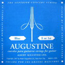 AUGUSTINE / Blue High Tension E or 1st バラ弦 【クラシックギター弦】【ガットギター弦】【ナイロン弦】【Nylon】【オーガスチン】【ブルー】【ハイテンション】【1弦】【Single】【新宿店】