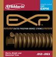 D'Addario / EXP Coated Phosphor Bronze EXP16 Light 12-53 【アコースティックギター弦(アコギ弦)】【フォークギター弦】【セット弦】【ダダリオ(Daddario)】【コーティング弦】【フォスファーブロンズ】【ライト】【EXP-16】【新宿店】
