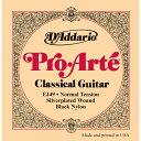 D'Addario / Pro-Arte Black Nylon EJ49 Normal Tension 28-43 【クラシックギター弦】【Classic Guitar Strings】【ガットギター弦】【Gut】【ブラックナイロン弦】【Nylon】【セット弦】【ダダリオ】【Daddario】【EJ-49】【ノーマルテンション】【新宿店】