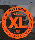 D'Addario / ProSteels EPS510 Regular Light 10-46 【エレキギター弦】【Electric Guitar Strin...