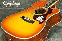 【アウトレット大特価!】Epiphone / FT-350SCE Min-ETune Vintage Brown【Min-ETune搭載!】【エピフォン】【アコースティックギター..