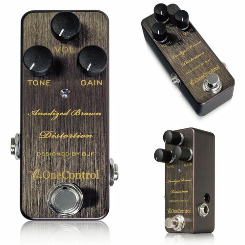 One Control / Anodized Brown Distortion【新宿店】