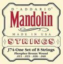 D'Addario / J74 Mandolin/Meduim /Phospor Bronzeマンドリン弦【心斎橋店】