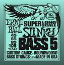 ERNiE BALL / #2850 Super Long Scale 5-strings Slinky Bass 45-130