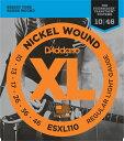 D'Addario / ESXL110 Regular Light ダダリオ ダブルボールエンド エレキギター弦 1セット