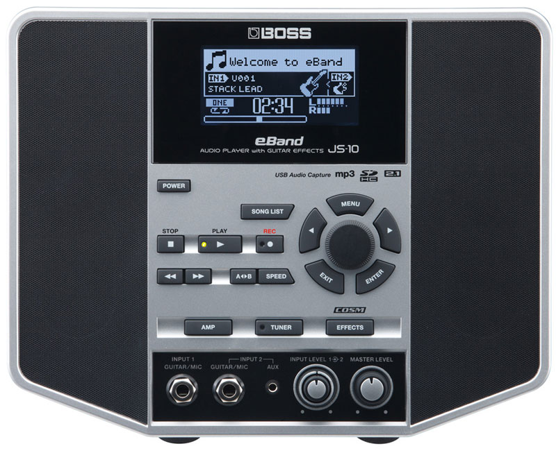 【在庫あり】【ポイント5倍】BOSS / eBand JS-10 AUDIO PLAYER with GUITAR EFFECTS 【送料無料】【FD0619】
