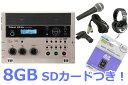 ◆CD-2uにマイクとヘッドフォンがセット。8GBのSDカード付き!