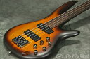 Ibanez アイバニーズ / Bass Workshop SRF700-BBF Brown Burst Flat【フレットレスベース】【送料無料】《予約注文/次回10月入荷予定》《KORGチューナー缶プレゼント!/+811136100》