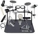 YAMAHA 電子ドラム DTX582KFS 3シンバル/PCY90AT ドラムマットDM1314付き スターター