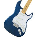 Fender / Made in Japan Traditional 58 Stratocaster Maple Fingerboard Sapphire Blue Trans《カスタムショップのお手入れ用品を進呈/ 671038200》《数量限定!FenderアンプFRONTMAN10Gもセット!/ 591355890》【YRK】