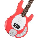 Sterling by MUSICMAN / S.U.B. Series Ray4 Fiesta Red (FRD)