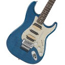 【タイムセール:30日12時まで】Fender / Michiya Haruhata Stratocaster Caribbean Blue Trans 春畑道哉モデル 【YRK】【新品特価】《純正ケーブル&ピック1ダースプレゼント / 2306619444005》