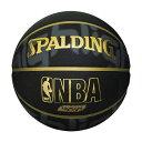 SPALDING スポルディング ゴールドハイライト 7号球 NBAロゴ入り (73-229Z)