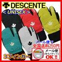 【1点までメール便可】 【2015-2016 NEW MODEL】 デサント 【DESCENTE】 UNISEX スキーグローブ スキー手袋 3フィンガーグローブ DGL50..