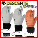【38%OFF!】【送料無料!】 デサント 【DESCENTE】 UNISEX 3フィンガー 3本指 スキー手