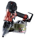 MAX マックス 高圧コイルネイラ HN-65N2(D)-R マイスターレッド 高圧釘打機