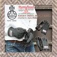 レザーグローブ【Harris Tweed】ハリスツイード×レザー 革手袋 GLENCHECK シープスキン メンズ ギフト