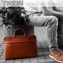 ショッピングビジネスバック ビジネスバッグ【TRION(トライオン)】AA113 グラブレザー ブリーフケース 通勤バッグ ビジネスバック メンズ ギフト
