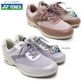 YONEX/ヨネックス パワークッション SHW LC65Wレディース ウォーキングシューズ コンフォートシューズ メッシュ ファスナー 軽量 快適 歩きやすい 脱ぎやすい 履きやすい 散歩 旅行 女性 婦人