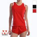 【返品・交換不可】ウィメンズランニングシャツ P5520 【110cm〜150cm】 [女性用] wundou ウンドウ スポーツウェア トレーニングウェア