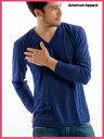アメアパ数量割引あり!アメリカンアパレル【アメアパ】Vネック 長袖 Tシャツ【American Apparel】Unisex Tri-Blend Long Sleeve V-Nec..