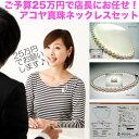 店長にお任せ!ご予算25万円のアコヤ真珠ネックレス イソワパール