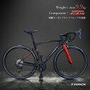 【送料無料】【新しくなった本格派ロードSWIFT 1.0】TRINXのロードバイク SWIFT 700C カーボン&アルミフレーム人気モデルの最新型シマノ TIAGRA 20段変速ロードレーサー