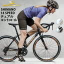 SCHNEIZER R101エントリーモデルデュアルコントロールSHIMANOTOURNEY14速軽量アルミフレームシュナイザーR101ロードレーサーロードバイク
