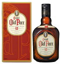 ウイスキー スコッチ オールドパー 12年 正規品 箱入り 750ml 1本 ギフト 父親 誕生日 プレゼント