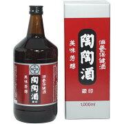 薬用 銀印 陶陶酒 陶々酒 甘口 1000ml