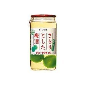 お歳暮 御歳暮 チョーヤ さらりとした梅酒 (実入り) 160ml