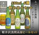 【ケース販売】【ギフト包装 のし可】[長野県 THE 軽井沢ビール] クラフトビール飲み比べセット THE 軽井沢ビール 6種各1本 6本セット[地ビール]