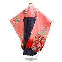 【袴 卒園式 女の子】七五三 結婚式 着物 レンタル 7歳 5歳【七五三 袴】 121【fy16REN07】
