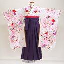 【袴 卒園式 女の子】七五三 結婚式 着物 レンタル 7歳 5歳【七五三 袴】 506【fy16REN07】