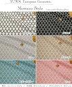 楽天手芸と生地の店 いすずYUWA≪有輪≫European Geometric『Morocco Style≪モロッコスタイル≫』コットン100%シーチングプリント≪チンツ加工≫素材:コットン100% 生地幅:約108cm