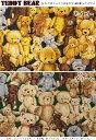 『TEDDY BEAR《テディベア》』コットン100%ゴブラン織り風オックスプリント●素材:コットン100% ●生地幅:約110cm