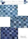 『カントリーデニムパッチ』コットン100%Wガーゼプリント素材:コットン100% 生地幅:約108cm