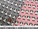 『ミニミニパンダ』コットン100%ブロードプリント●素材コットン100% ●生地幅:約110cm女の子/男の子/キッズ/アニマル/生地/ハンドメイド/手作り/入園/入学/服/ウェアー/小物