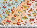 『豆柴の旅日記♪』コットン100%シーチングプリント素材:コットン100% 生地幅:約108cm柴犬