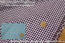 約145cmワイド幅『グレンチェック≪千鳥格子≫』ウール混先染めツイード素材:アクリル95%ウール5% 生地幅:約145cm秋冬/女の子/男の..