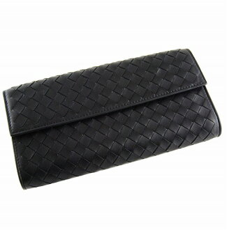 Bottega Veneta hoc expression 150509 V001N1000 lambskin (black) wallet appreciation reduced brand new SALE