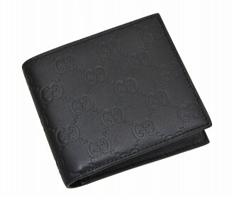146223 1000 gucci GUCCI folio wallet A0V1R GG type push calf (black) deep-discount popular new SALE
