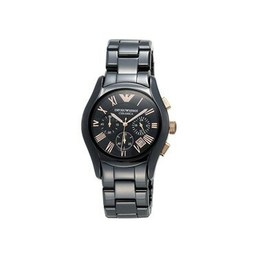 Emporio Armani EMPORIO ARMANI watches WATCH AR1410 mens watch ceramic chronograph black