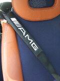 由于在意大利销售的商品梅赛德斯·奔驰MERCEDES BENZ AMG的安全带盖子垫(2件套)的标志[イタリアで販売している商品ですメルセデスベンツMERCEDES BENZ AMGのシートベルトカバーパッド(2枚セット)のエンブレム]