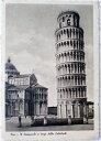 1930年発行のピサお部屋のインテリアにイタリアのアンティークショップで見つけた絵ハガキと切手と雑貨
