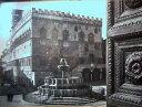 1955年発行のイタリアのペルージャの風景の絵はがきお部屋のインテリアにイタリアのアンティークショップで見つけた絵ハガキと切手と雑貨