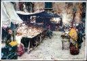 1960年発行のイタリアのナポリの風景の絵はがきお部屋のインテリアにイタリアのアンティークショップで見つけた絵ハガキと切手と雑貨
