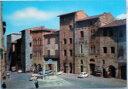 1970年発行のイタリアのサンジミニャーノの風景の絵はがきお部屋のインテリアにイタリアのアンティークショップで見つけた絵ハガキと切手と雑貨