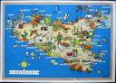 1950年発行のイタリアのシチリアの風景の絵はがきお部屋のインテリアにイタリアのアンティークショップで見つけた絵ハガキと切手と雑貨